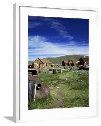 Bodie, Ghost Town, California, USA-Tony Gervis-Framed Art Print