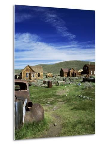 Bodie, Ghost Town, California, USA-Tony Gervis-Metal Print
