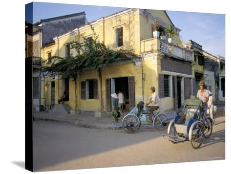 Typical Houses, Hoi An, Vietnam, Southeast Asia-Tim Hall-Stretched Canvas Print