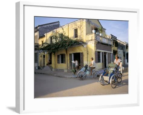Typical Houses, Hoi An, Vietnam, Southeast Asia-Tim Hall-Framed Art Print