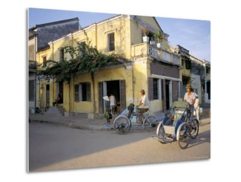 Typical Houses, Hoi An, Vietnam, Southeast Asia-Tim Hall-Metal Print
