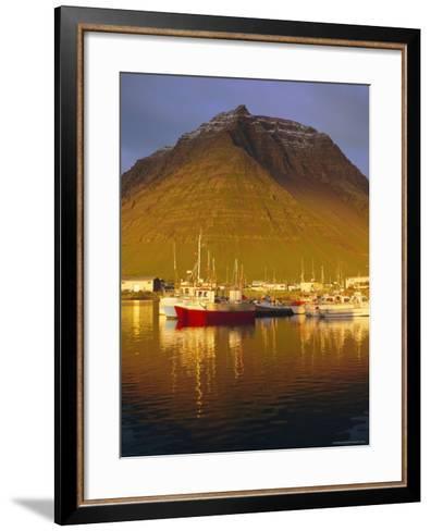 Bolungavik, North West Iceland-David Lomax-Framed Art Print