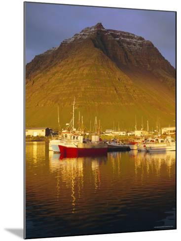 Bolungavik, North West Iceland-David Lomax-Mounted Photographic Print