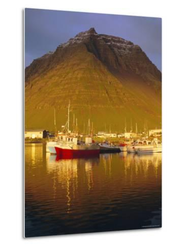 Bolungavik, North West Iceland-David Lomax-Metal Print