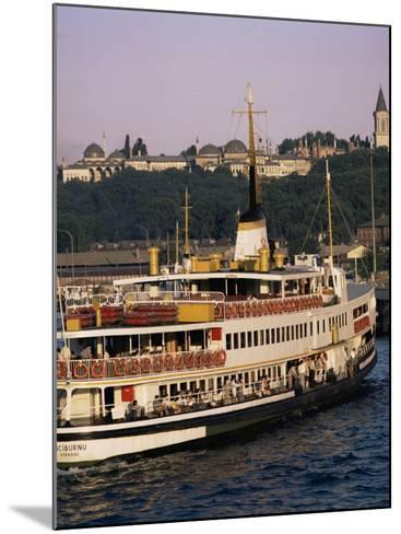 Bosphorus Ferry, Istanbul, Turkey, Eurasia-David Lomax-Mounted Photographic Print