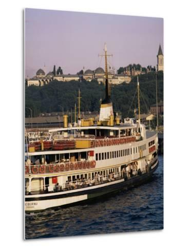 Bosphorus Ferry, Istanbul, Turkey, Eurasia-David Lomax-Metal Print
