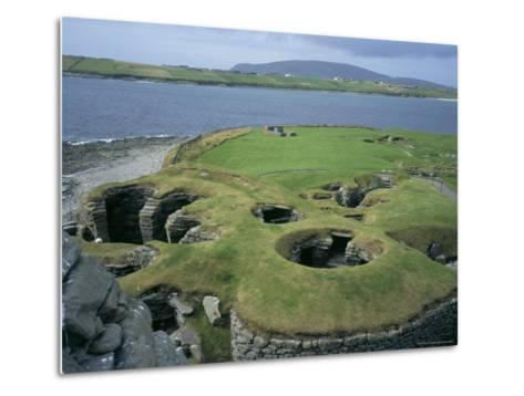 Jarlshof, Shetland, Scotland, United Kingdom-David Lomax-Metal Print