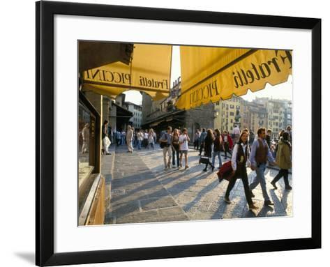 The Ponte Vecchio, Florence, Tuscany, Italy-Michael Newton-Framed Art Print