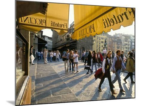 The Ponte Vecchio, Florence, Tuscany, Italy-Michael Newton-Mounted Photographic Print