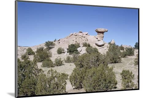 Camel Rock, Near Santa Fe, New Mexico, USA-Walter Rawlings-Mounted Photographic Print