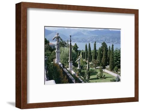 Isola Bella, Completed in 1670 for Count Borromeo, Lake Maggiore, Piedmont, Italy-Walter Rawlings-Framed Art Print