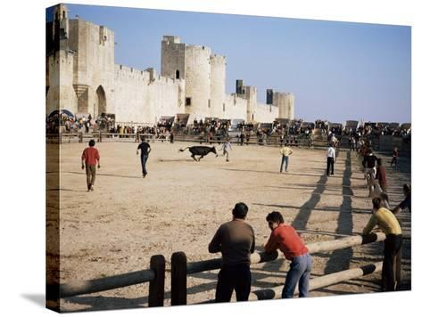 Aigues Mortes, Camargue, Provence, France-Walter Rawlings-Stretched Canvas Print