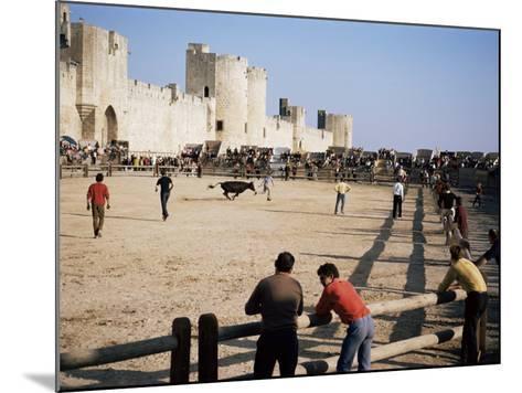 Aigues Mortes, Camargue, Provence, France-Walter Rawlings-Mounted Photographic Print
