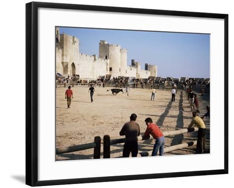 Aigues Mortes, Camargue, Provence, France-Walter Rawlings-Framed Art Print