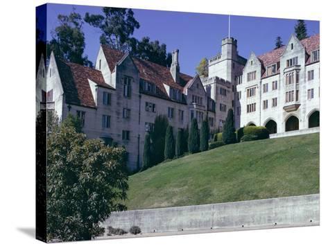 Berkeley University, Near San Francisco, California, USA-Walter Rawlings-Stretched Canvas Print