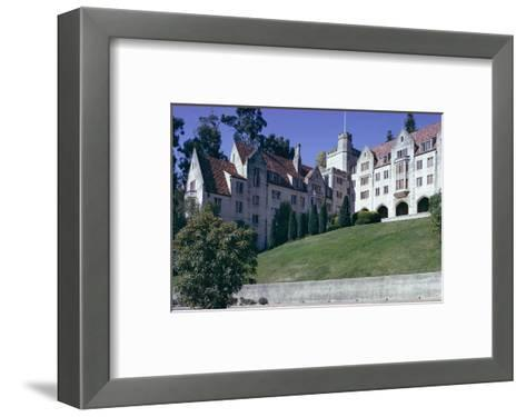 Berkeley University, Near San Francisco, California, USA-Walter Rawlings-Framed Art Print