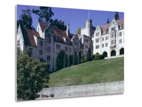 Berkeley University, Near San Francisco, California, USA-Walter Rawlings-Metal Print