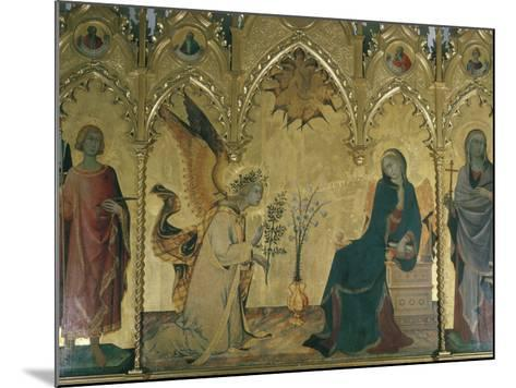 The Annunciation, Simone Martini, Uffizi, Florence, Tuscany, Italy-Walter Rawlings-Mounted Photographic Print