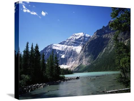 Mount Edith Cavell, Jasper National Park, Rocky Mountains, Alberta, Canada-Geoff Renner-Stretched Canvas Print