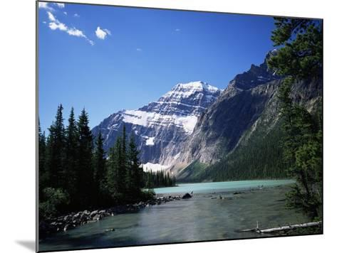 Mount Edith Cavell, Jasper National Park, Rocky Mountains, Alberta, Canada-Geoff Renner-Mounted Photographic Print