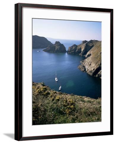 Havre Gosselin, Looking North to Gouliot Headland, West Coast, Sark, Channel Islands-Geoff Renner-Framed Art Print