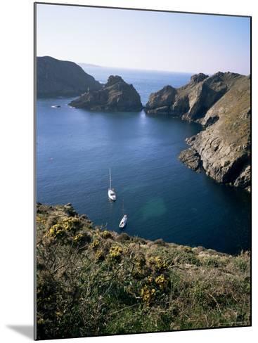 Havre Gosselin, Looking North to Gouliot Headland, West Coast, Sark, Channel Islands-Geoff Renner-Mounted Photographic Print