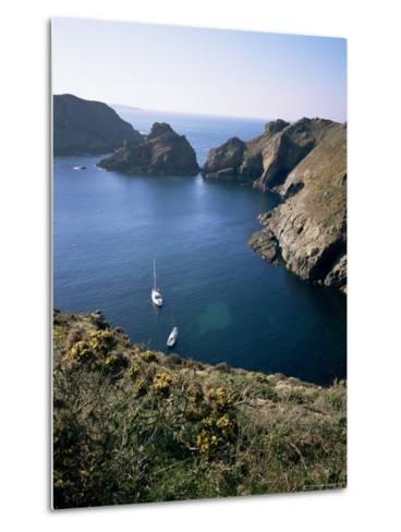 Havre Gosselin, Looking North to Gouliot Headland, West Coast, Sark, Channel Islands-Geoff Renner-Metal Print