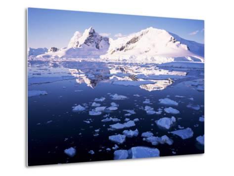 West Coast, Antarctic Peninsula, Antarctica, Polar Regions-Geoff Renner-Metal Print