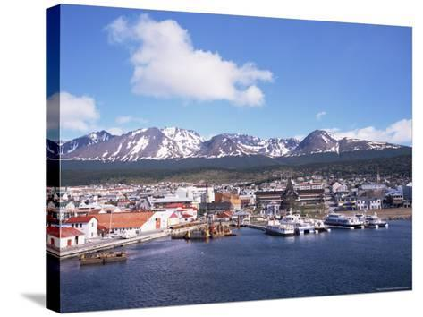 The Southernmost Port of Ushuaia, Argentina, South America-Geoff Renner-Stretched Canvas Print