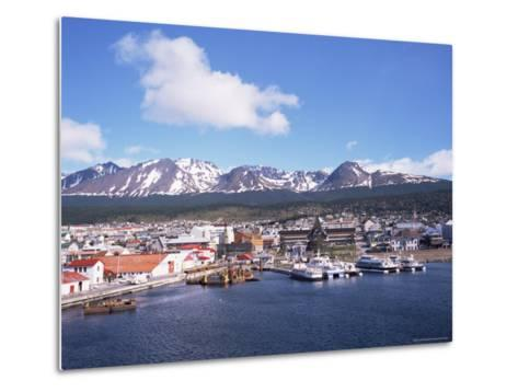 The Southernmost Port of Ushuaia, Argentina, South America-Geoff Renner-Metal Print