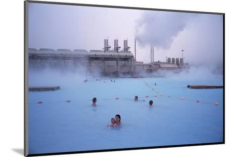 Geothermal Bathing, Blue Lagoon, Reykjanes Peninsula, Iceland, Polar Regions-Geoff Renner-Mounted Photographic Print
