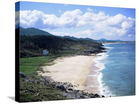West Coast Near Muros, Galicia, Spain-Geoff Renner-Stretched Canvas Print
