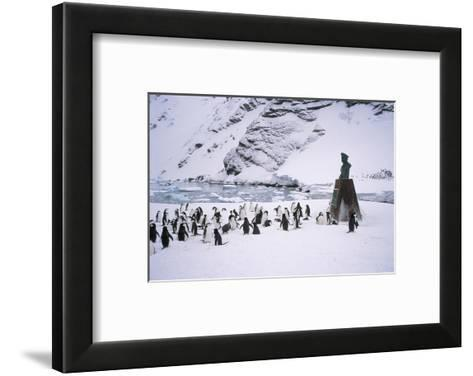 Point Wild, One of the Most Historic Locations in the Antarctic, Antarctica-Geoff Renner-Framed Art Print