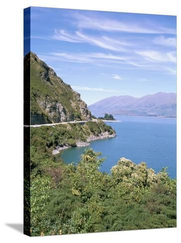 Lake Wanaka, Otago District, South Island, New Zealand-Geoff Renner-Stretched Canvas Print