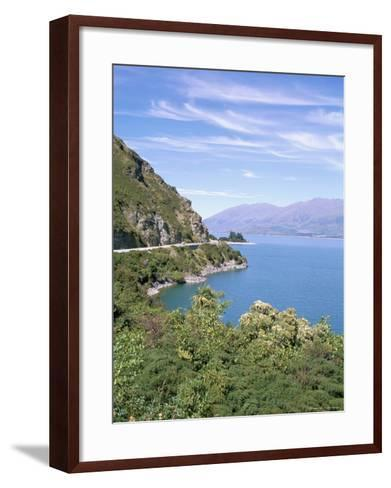 Lake Wanaka, Otago District, South Island, New Zealand-Geoff Renner-Framed Art Print