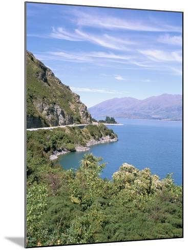 Lake Wanaka, Otago District, South Island, New Zealand-Geoff Renner-Mounted Photographic Print