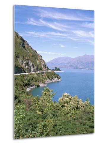 Lake Wanaka, Otago District, South Island, New Zealand-Geoff Renner-Metal Print