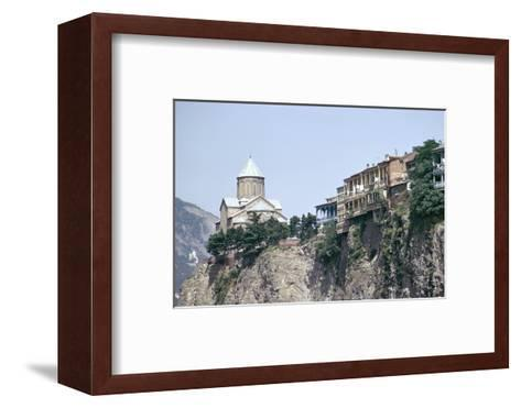 Metekhi Church, Tbilisi, Georgia, Central Asia-Sybil Sassoon-Framed Art Print