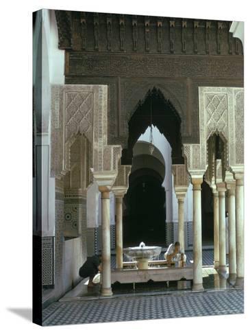 Karouine (Kairaouine) Mosque, Medina, Unesco World Heritage Site, Fez (Fes), Morocco-Sybil Sassoon-Stretched Canvas Print