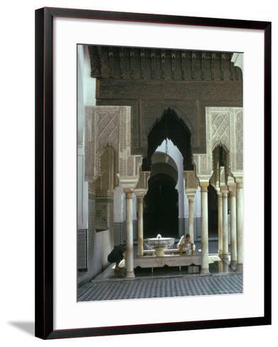 Karouine (Kairaouine) Mosque, Medina, Unesco World Heritage Site, Fez (Fes), Morocco-Sybil Sassoon-Framed Art Print
