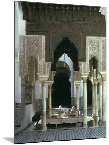 Karouine (Kairaouine) Mosque, Medina, Unesco World Heritage Site, Fez (Fes), Morocco-Sybil Sassoon-Mounted Photographic Print