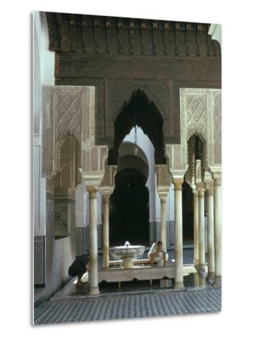 Karouine (Kairaouine) Mosque, Medina, Unesco World Heritage Site, Fez (Fes), Morocco-Sybil Sassoon-Metal Print