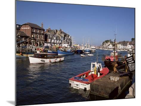 Weymouth Harbour, Dorset, England, United Kingdom-Jenny Pate-Mounted Photographic Print