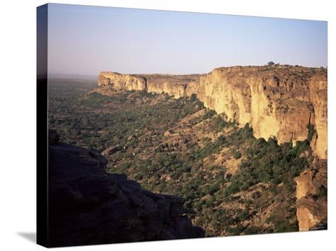 The Bandiagara Escarpment, Dogon Area, Mali, Africa-Jenny Pate-Stretched Canvas Print