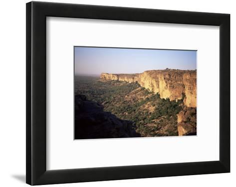 The Bandiagara Escarpment, Dogon Area, Mali, Africa-Jenny Pate-Framed Art Print
