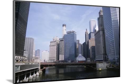 State Street Bridge Over Chicago River, Chicago, Illinois, USA-Jenny Pate-Mounted Photographic Print
