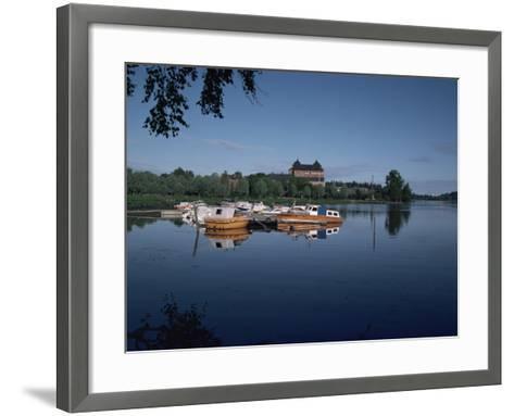 Hame Castle and Lake Vanajavesi, Hameenlinna, Finland, Scandinavia-Jenny Pate-Framed Art Print