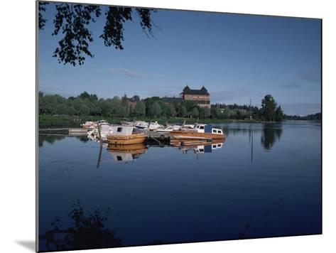 Hame Castle and Lake Vanajavesi, Hameenlinna, Finland, Scandinavia-Jenny Pate-Mounted Photographic Print