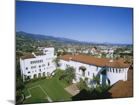 View Over Courthouse Towards the Ocean, Santa Barbara, California, USA-Adrian Neville-Mounted Photographic Print