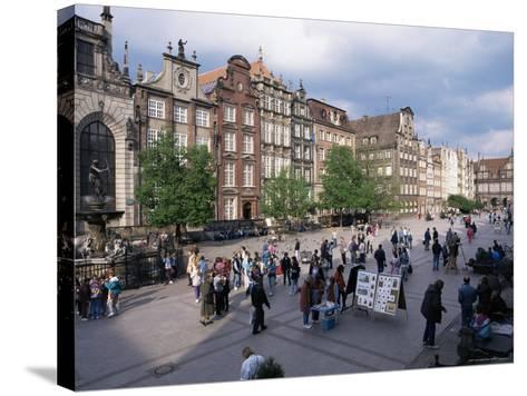 Centre, Gdansk, Poland-Gavin Hellier-Stretched Canvas Print
